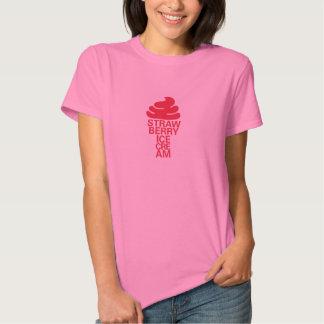 Strawberry Ice Cream Tee Shirts