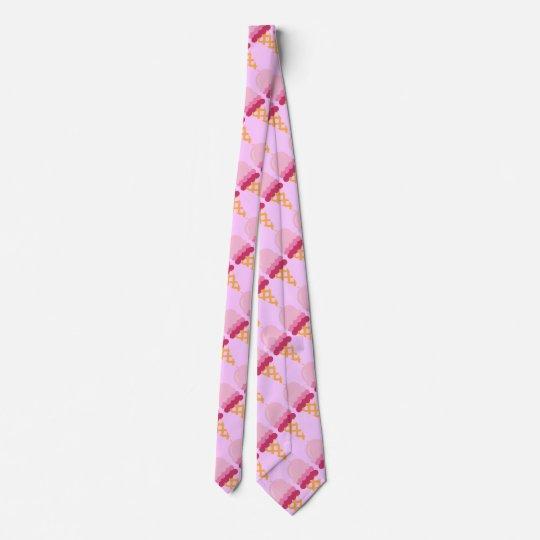 Strawberry ice cream tie