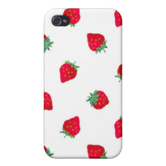 Strawberry iPhone 4 4S Case-Mate Case