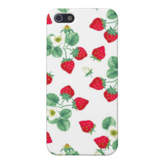 Strawberry iPhone 5/5S Covers