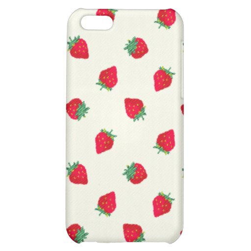 Strawberry Cover For iPhone 5C