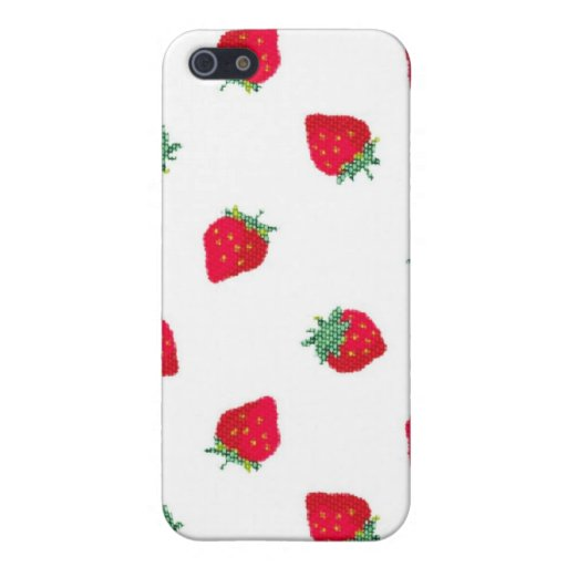 Strawberry Cover For iPhone 5
