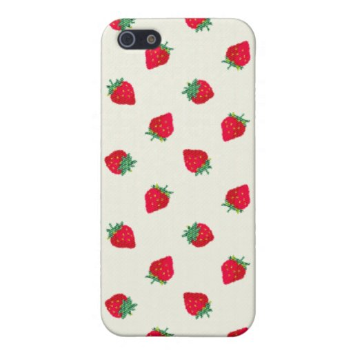 Strawberry Cases For iPhone 5