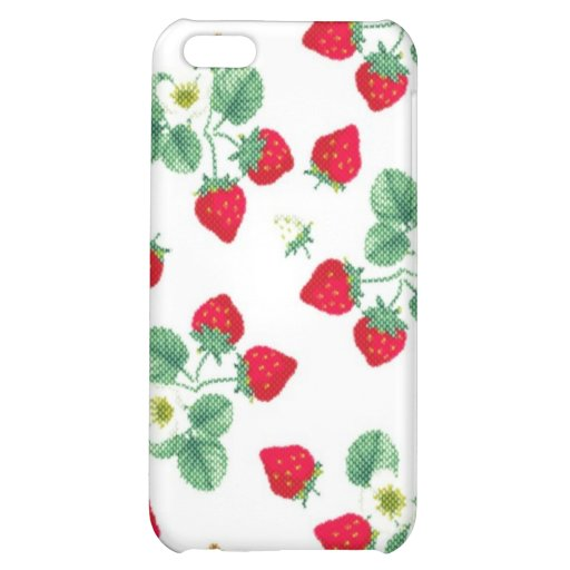 Strawberry iPhone 5C Covers
