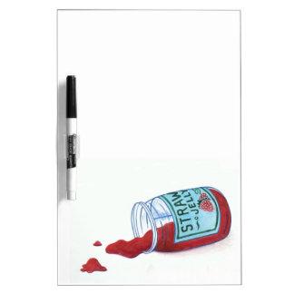 Strawberry Jelly Dry Erase Board