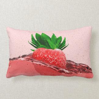 Strawberry Juice Lumbar Cushion