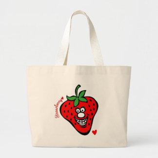 Strawberry *Jumbo Tote Jumbo Tote Bag