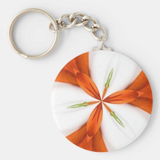 strawberry kaleidoscope keychain