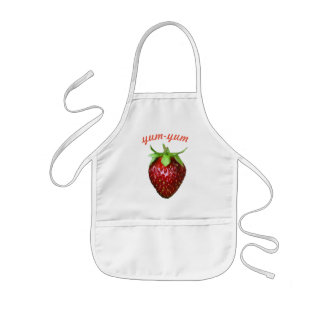 Strawberry Kids Apron