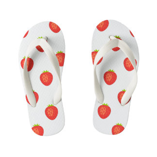 Strawberry Kids Flip Flops