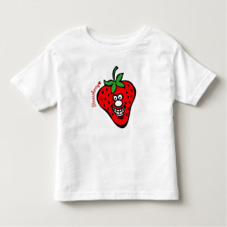 Strawberry *Kids White shirt