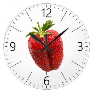 Strawberry Large Clock