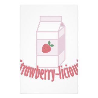 Strawberry-licious Stationery