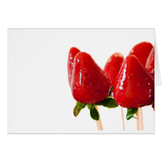 Strawberry Lollipop Card