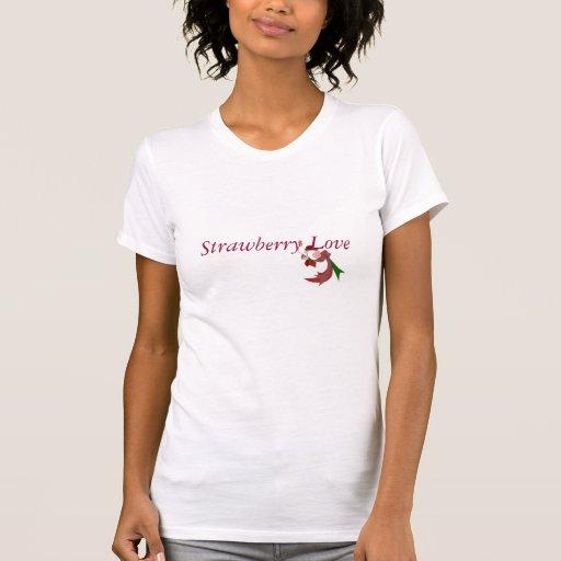 Strawberry Love T-Shirt Tee Shirt