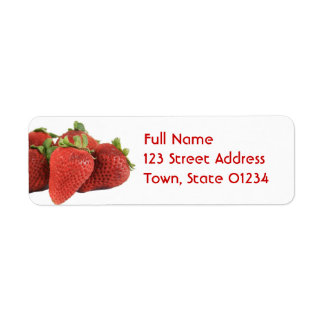 Strawberry Mailing Labels