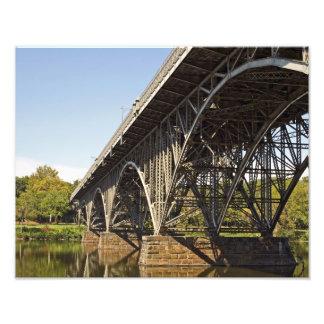 Strawberry Manson Bridge Philadelphia PHOTO PRINT