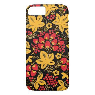 Strawberry Maple Hohloma iPhone 7 Case
