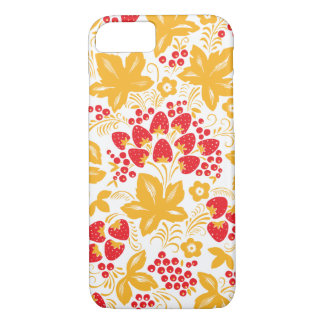 Strawberry Maple Hohloma iPhone 7 Case