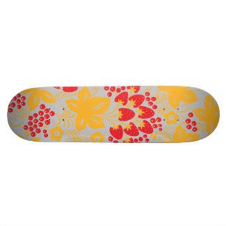 Strawberry Maple Skate Board