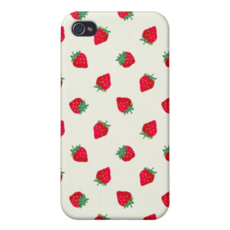 Strawberry -Mate iPhone 4/4S Cases