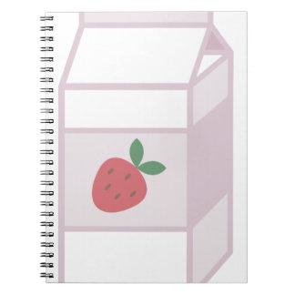Strawberry Milk Notebook