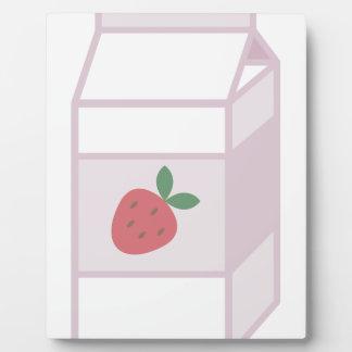 Strawberry Milk Plaque