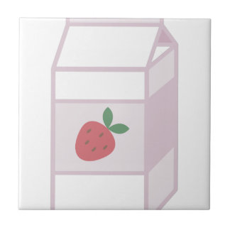 Strawberry Milk Tile