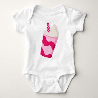 Strawberry Milkshake Baby Bodysuit