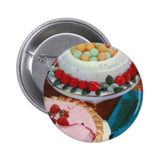 strawberry mint button
