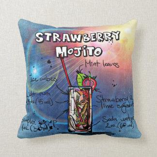 Strawberry Mojito Cushion