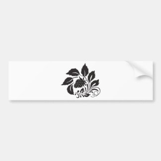 strawberry, nature, abstract, trees, foliage bumper sticker
