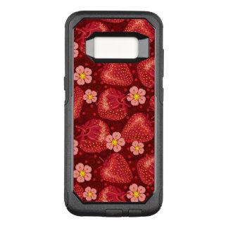 Strawberry Pattern 2 2 OtterBox Commuter Samsung Galaxy S8 Case
