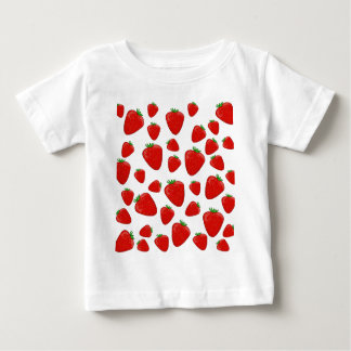 Strawberry pattern baby T-Shirt