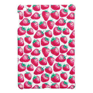 Strawberry pattern cover for the iPad mini