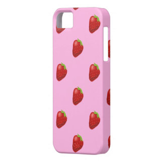 strawberry pattern iphone5 barely case for the iPhone 5