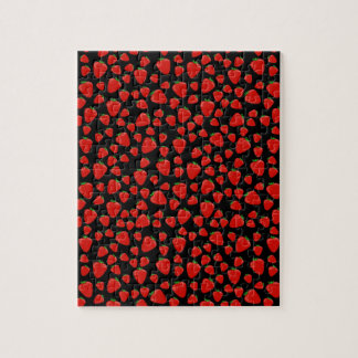 Strawberry  pattern jigsaw puzzle