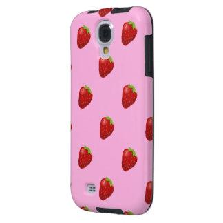 strawberry pattern samsung galaxy S4 vibe Galaxy S4 Case