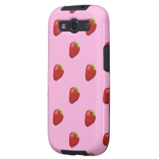 strawberry pattern samsung galaxyS3 vibe Galaxy S3 Covers