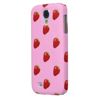 strawberry pattern samsung galaxyS4 barely Samsung Galaxy S4 Covers