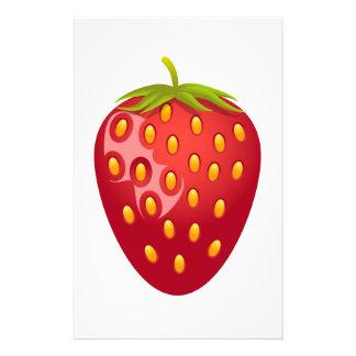 Strawberry Personalized Stationery
