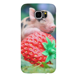 strawberry pig samsung galaxy s6 cases
