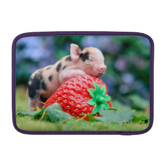 strawberry pig sleeve for MacBook air