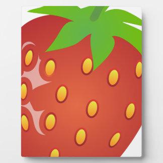 Strawberry Plaque