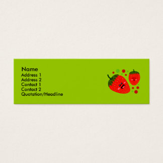 Strawberry Profile Cards