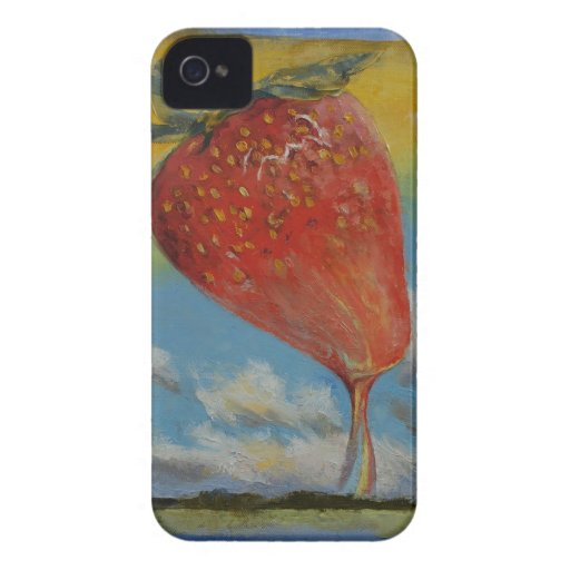 Strawberry Rainbow iPhone 4 Covers