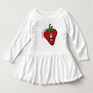 Strawberry *Ruffle Dress