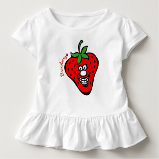 Strawberry *Ruffle Tee