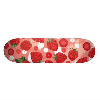 Strawberry - Skateboard