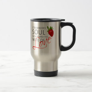 Strawberry Soul Travel Mug